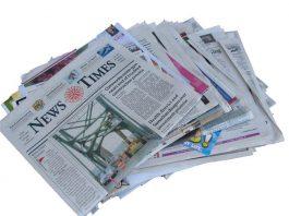 educar al cachorro con periódicos