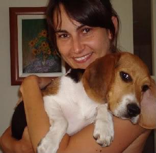 Yolanda_y_su_beagle_Oli