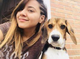 Stephany y su perrita Lua - Guatemala